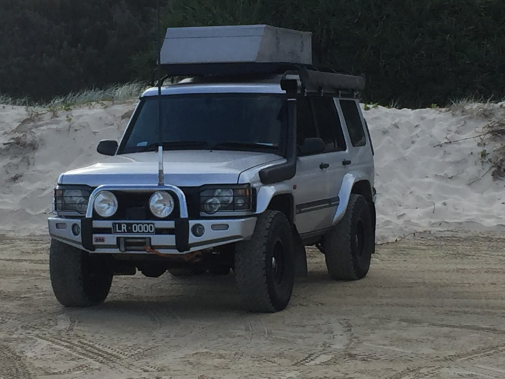 bumper rover roof land arb discovery slider bar pesquisa landrover pin google